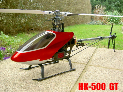 HK-500 GT/ T-Rex 500 Clone Electric Helicopter ***RTF***